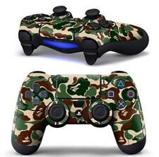 Camouflage Skin Sticker Decal  For Sony PS4 Playstation Dualshock Controller