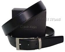 """Cintura uomo """"CALVIN KLEIN"""" mod: CK361Q nero/marrone"""