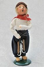 1992 Byers Choice Children of World:Dutch Boy w/Skates &Wooden Shoe-not shown