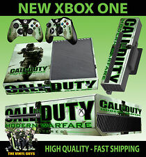 XBOX ONE Console Sticker Call Of Duty Modern Warfare COD SKIN & 2 PAD SKINS