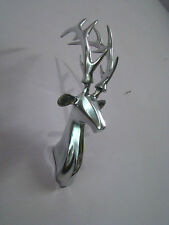 Aluminium Wall Mount Small Deer Head 15 inches Stag Antelope Figurine smll a/u