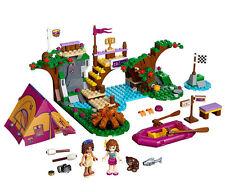 Adventure Camp Drift field Building blocks Friends gift 325pcs fit lego #10493