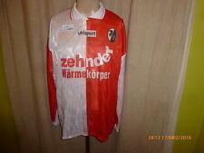 """SC Freiburg uhlsport Langarm Trikot 1996/97 """"zehnder Wärmekörper"""" Gr.XL Neu"""