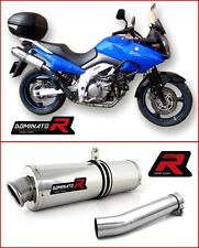 DOMINATOR Exhaust ROUND SUZUKI DL 650 04-06 V-STROM + DB KILLER