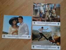 CLAUDIA CARDINALE 1967 French Lobby Cards DON'T MAKE WAVES Sharon Tate T.CURTIS