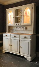 Ducal Farmhouse Dresser - Sideboard - Kitchen Unit - Hand Painted Shabby Chic