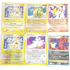 Pokemon TCG Card Secret Wonders Holo Rare x 6 Ampharos Golem Entei Honchkrow