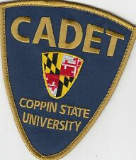 COPPIN STATE UNIVERSITY CADET MARYLAND MD POLICE PATCH