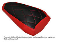 DIAMOND STITCH RED CUSTOM FITS YAMAHA R1 R1M 2015 REAR SEAT COVER