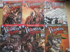 SHERLOCK HOLMES : VICTORIAN UNDEAD - vs ZOMBIES. COMPLETE 6 ISSUE SERIES. 2010