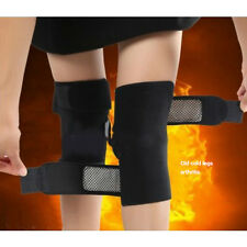 1Pair Magnetic Tourmaline self heating kneepad Therapy knee support tourmaline