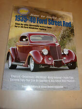 How to Build a 1935-40 Ford Street Rod HANDBOOK MANUAL Inc 1936 ROADSTER BUILD