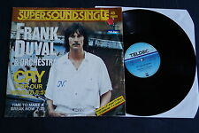 """Frank Duval & Orchestra – Cry (For Our World), Vinyl, 12"""" Maxi, vg++"""
