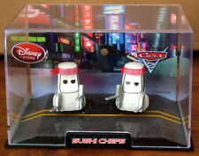 Disney Pixar Cars 2 – SUSHI CHEFS SET in Display Case - NEW!