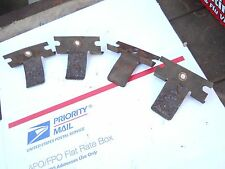 1977 SKIDOO 340 EVEREST electric parts: ALL FOUR HOOD REST GUIDES