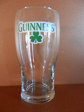 Guinness Brewing Company Clover 12 ounce beer glass.  NEW Dublin Ireland