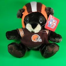 Cleveland Browns Plush Teddy Bear Stuffed Animal NFL Gift with Jersey and Helmet