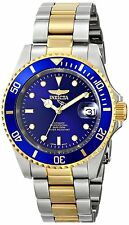 NEW INVICTA MENS PRO DIVER 24 JEWEL AUTOMATIC TWO TONE COIN BEZEL WATCH 8928 OB
