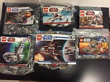 Large LEGO Star Wars Set Lot 8016 8085 8091 7957 8036 7752