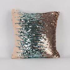 New Shiny Beaded Cushion Cover Sequin Mermaid Cushion Cover Decorative Pillow