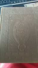 """Antique  Vintage   """" The International Library Of Music """"   Book   1925    Sheet"""