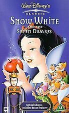 Snow White & the Seven Dwarfs (1937) [VHS] [1938], Good VHS, Adriana Caselotti,