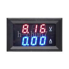 DC 0-100V 10A Dual digital Voltmeter Amperemeter Platte Voltage ammeter