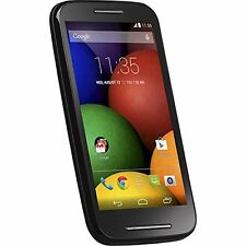Motorola Moto E Android Prepaid Phone with Triple Minutes Cell Phones - Tracfone