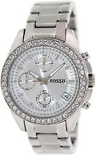 Fossil Women's Decker ES2681 White Stainless-Steel Analog Quartz Watch