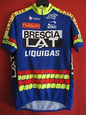 Maillot cycliste Brescialat  Liquigas Equipe Pro 1998 Vintage - 54