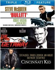 Bullitt/The Cincinnati Kid/The Getaway (2012, REGION A Blu-ray New) BLU-RAY/WS