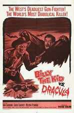 Billy Kid Vs Dracula Poster 01 A3 Box Canvas Print