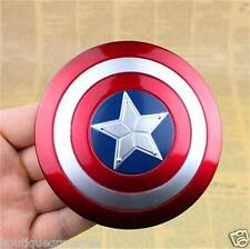 New The avengers alliance Marvel Captain America 10cm Metal Alloy Shield Model