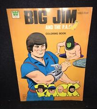BIG JIM AND THE P.A.C.K. COLORING BOOK 1977 VINTAGE WHITMAN HTF