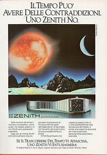 Pubblicità Advertising Werbung 1979 ZENITH Port Royal