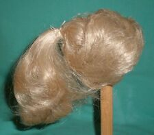 "doll wig blond 8.5"" to 9"" short hair with ponytail"