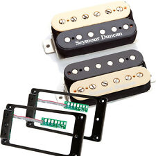 Seymour Duncan Hot Rodded Humbucker set zebra SH-2 SH-4 w/TS-2 Triple Shot set