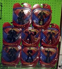 Mattel Movie Masters Man of Steel Superman Set General Zod Jor-El Faora Key