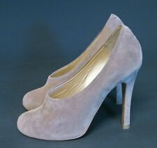 Chloe Tan/Beige Suede High Heel shoes ~ Sz 37 ~ Made in Italy