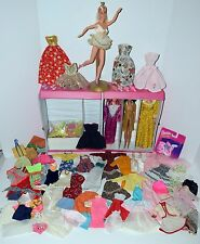 Vintage & Contemporary Mixed 185 + Pieces TLC-Good Barbie Doll Clothing,..Lot #1