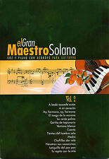 El Gran Maestro Solano Learn to Play Pop PIANO Guitar PVG Music Book Vol 2