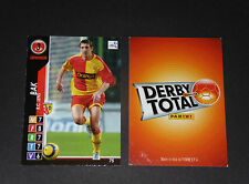 BAK POLSKA RC LENS RCL BOLLAERT SANG & OR PANINI FOOTBALL CARD 2004-2005