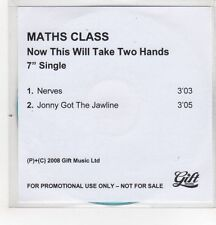 (GH210) Maths Class, Now This Will Take Two Hands - 2008 DJ CD