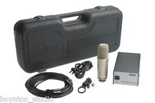 Rode NTK Large Diaphragm Class A Tube Condenser Microphone ~ BEST DEAL!!