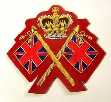 UK Britain BEF British Drum Major Corps Band Uniform Staff Patch Regiment Army