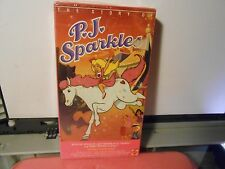 THE STORY OF PJ SPARKLES VHS VIDEO / Robby & Jody Benson ANIMATED OOP SEALED NEW