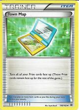 4X POKEMON CARD XY BREAK THROUGH - TOWN MAP 150/162 TRAINER