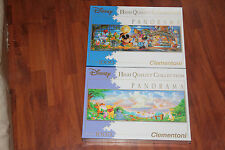 TWO NEW AND SEALED DISNEY 1000pc PANORAMA JIGSAW PUZZLES.
