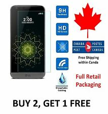 LG G5 Premium Tempered Glass Screen Protector Full Retail Package From Canada