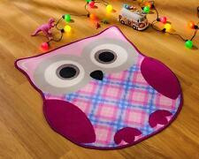 Matrix Kiddy Owl Kids / Childrens Play Rug 80x90cm